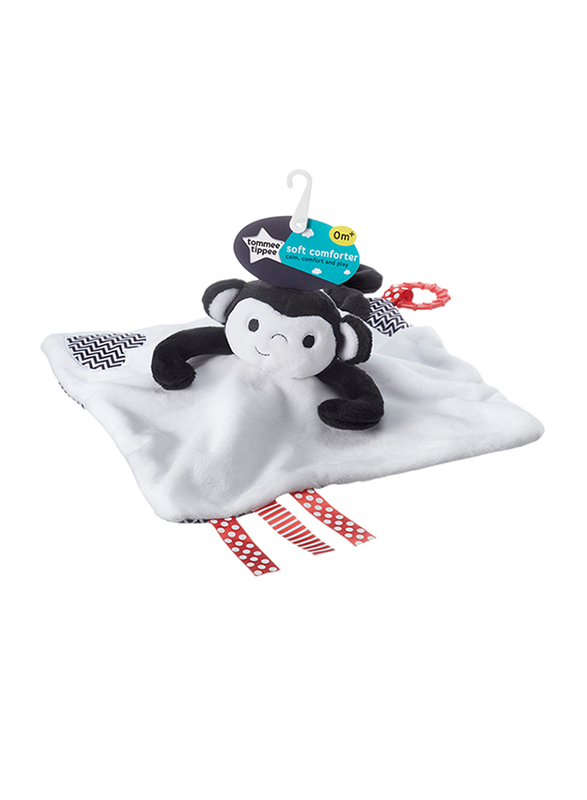 Tommee Tippee Soft Comforter Unisex, Marco Monkey, White