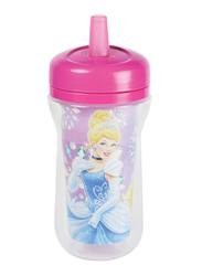 The First Years Princess Insulated Straw Cup, 9oz, Pink