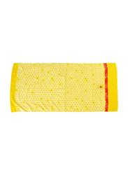 Disney Winnie The Pooh Cotton Jacquard Towel for Kids, 60 x 120cm, Yellow/Red