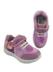 Disney Frozen II Anna & Elsa Sneakers for Girls, 25 EU, Pink