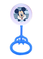 Disney Rattle Toy for Baby Boys, Mickey Mouse, Blue