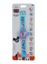 Disney Minnie & Daisy Projector Watch for Girls, 3+ Years, One Size, Multicolor