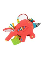 Dolce Baby Aardvark Teether & Pull Legs Toy, Multicolour