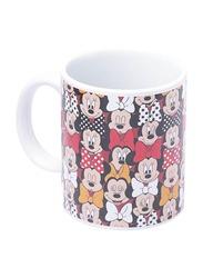 Disney Minnie Mouse Can Shape Ceramic Mug for Girls, 300ml, Multicolor