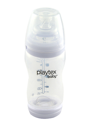 Playtex VentAire Nipple Bottle, 266ml, Clear