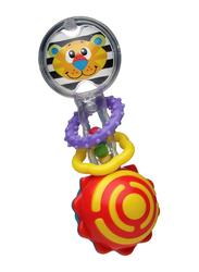 Playgro Twisting Barbell New Design Rattle, Multicolour