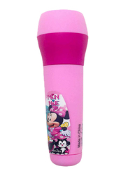 Disney Minnie Mouse Kids Battery Powered LED Flashlight Torch Night Light, Pink