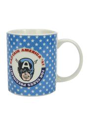 Marvel Marvel Comics Can Shape Ceramic Mug for Boys, 300ml, Blue/White/Red