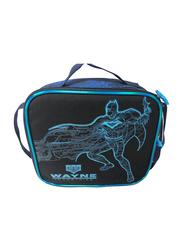 Warner Bros Batman Glowing Bat Lunch Bag for Boys, Blue