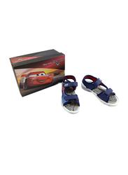 Disney Cars Lightning McQueen Sandals for Boys, 29 EU, Dark Blue