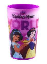 Disney Princesses Lenticular 3D Tumbler Kids Drinking Cup 300ml, Purple