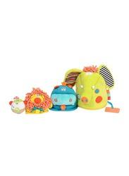 Dolce Interactive Safari Animals Stuffed Toy, Multicolour