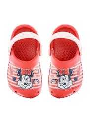Crocs Disney Minnie Mouse Themed Clogs for Girls, 29 EU, Lilac