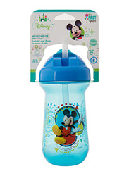 The First Years Mickey Flip Top Straw Cup, Blue