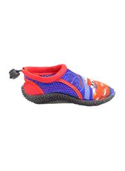 Disney Cars Lightning McQueen Slip-On Sneakers for Boys, 28 EU, Cobalt Blue