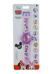 Disney Minnie Mouse & Friends Projector Watch for Girls, 3+ Years, One Size, Multicolor