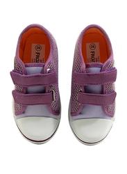 Disney Frozen II Velcro Sneakers for Girls, 24 EU, Lilac