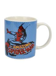 Marvel Marvel Comics Can Shape Ceramic Mug for Boys, 300ml, White/Blue/Black/Red