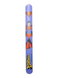 Warner Bros Superman Slap Bracelet for Boys, Silicone, Free size, Multicolour