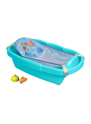 The First Year Pixar & Nemo Shell Bath Tub with Toys for Newborn, Blue