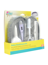The First Year 7-Pieces Baby Healthcare Kit, White/Purple
