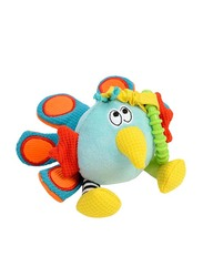 Dolce Shaker Peacock Shake Me All Over Stuffed Toy, Multicolour
