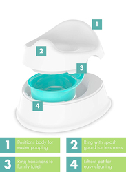 The First Years 2 in 1 Potty System, White