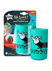 Tommee Tippee No Knock Cup for Boy, 300ml, Dog, Green