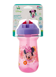 The First Years Minnie Flip Top Straw Cup, Pink