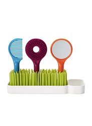Boon 4 Pieces Spiff Toddler Grooming Kit, Green/White/Blue/Orange/Red