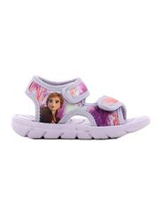 Disney Frozen 2 Anna Flat Sandals for Girls, 29 EU, Lilac