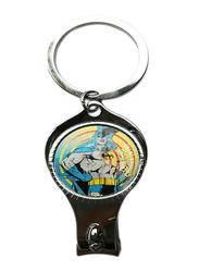 Warner Bros DC Comics Batman 3D Lenticular Keychain/Nail Cutter For Boys, Multicolor