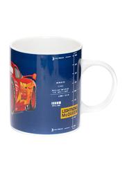 Disney Cars Can Shape Ceramic Mug for Boys, 300ml, Blue/Red/Yellow