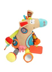 Dolce Spring Calf Teether & Pull Legs Toy, Multicolour