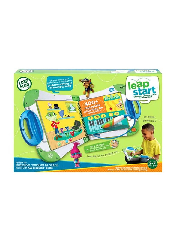 Leap Frog Leap Start Interactive Learning System, Green, Ages 2+