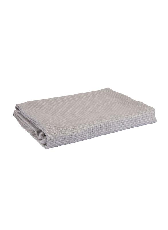 Playgro Home Bamboo Basket Weave Blanket, Grey
