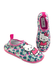 Sanrio Hello Kitty Themed Slip-On Sneakers for Girls, 29 EU, Fuchsia