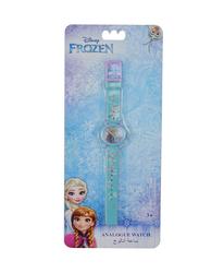 Disney Frozen Analog Watch for Girls, 3+ Years, One Size, Purple/Blue