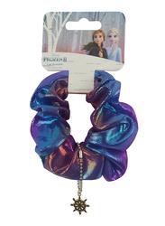 Disney Frozen II Scrunchie for Girls, 1-Piece, Blue