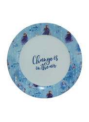 Disney Frozen II Movie Ceramic Dinnerware Breakfast Set for Girls, 3 Pieces, Multicolor