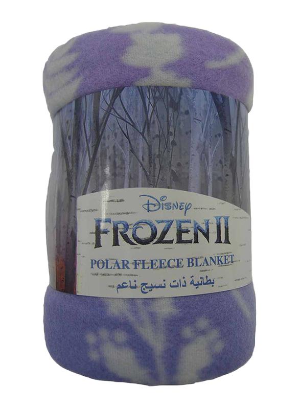 Disney Frozen 2 Polar Fleece Blankets, 100 x 150cm, Multicolor