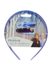Disney Frozen II Hair Clips and Bands Set for Girls, Multicolor
