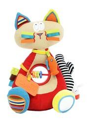 Dolce Siamese Cat Interactive Stuffed Animal Plush Toy, Multicolour
