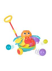 Playgro Push Along Ball Popping Octopus, Multicolour