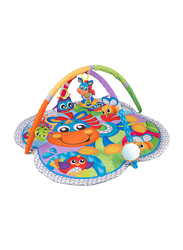 Playgro Clip Clop Musical Activity Gym, Blue/Green/Yellow/Red/Purple