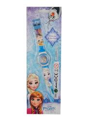 Disney Frozen Digital Watch for Girls, One Size, Multicolor