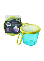 Tommee Tippee Explora Snack & Go Pot for Boy, Blue