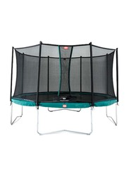 Berg Favorit 11 Feet Trampoline with Safety Net Comfort, 330cm, Ages 6+