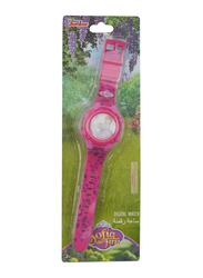Disney Sofia The First Digital Watch for Boys, with Rotating Running Light, 3+ Years, One Size, Red