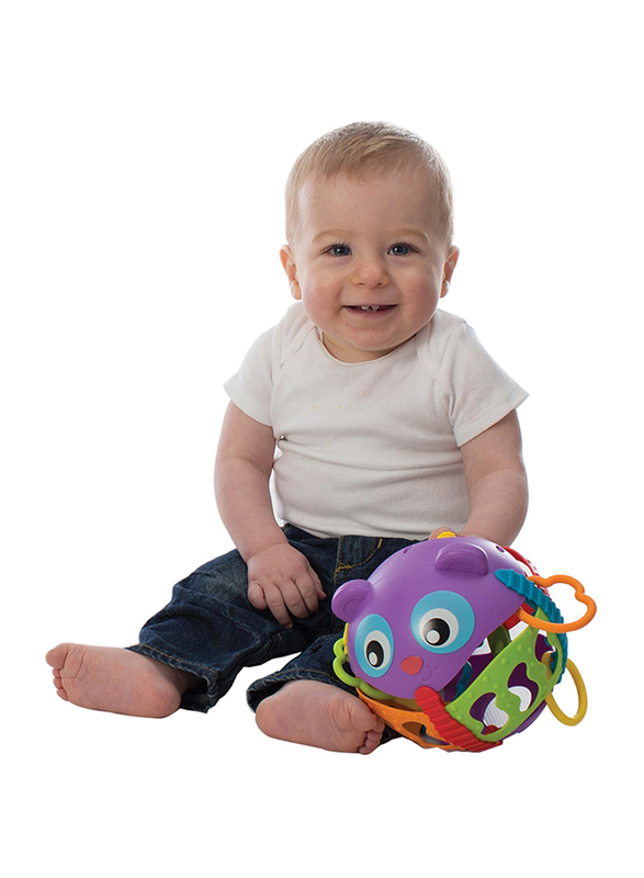 Playgro Roly Poly Activity Ball, Multicolour